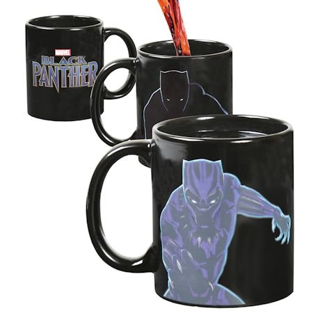 Black Panther Heat Change Mug