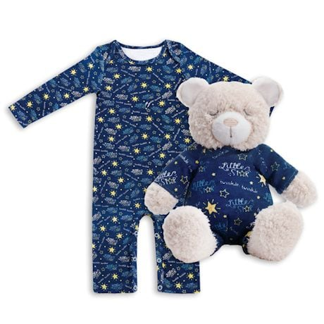 Jammie Pals Pajamas & Stuffed Animals Pajama Set