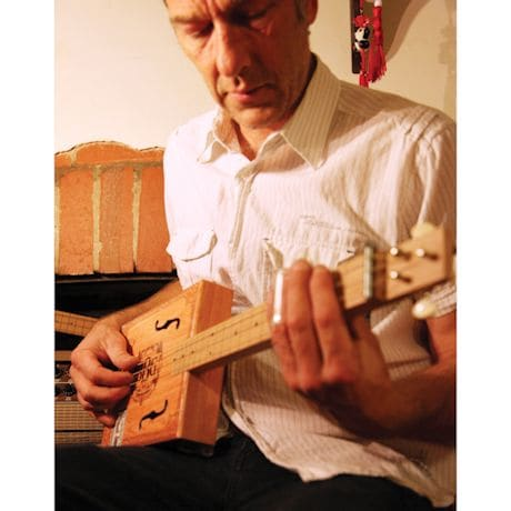 Electric Blues Build Your Own Cigar Box Guitar Kit