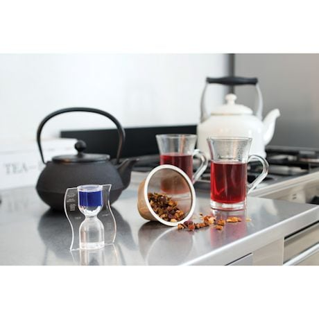 Paradox Anti-Gravity Hourglass Tea Timer
