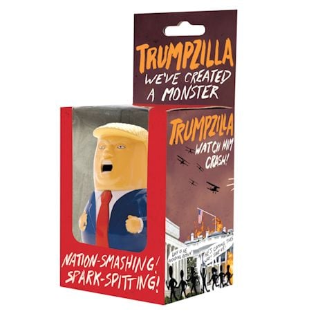 Trumpzilla Wind-Up Donald Trump Toy
