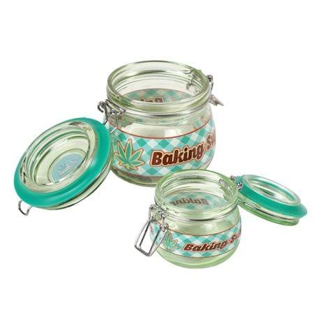 Baking Supplies Stash Jars