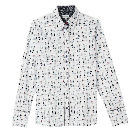 Dog Oxford Women's Tops