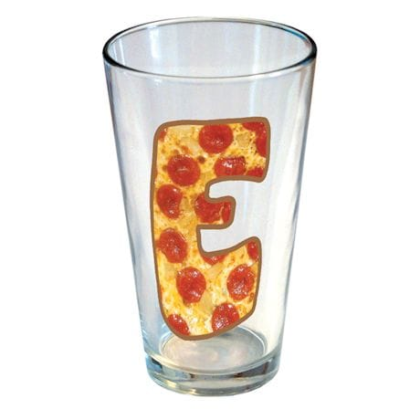 Personalized Pizza Pint Glass