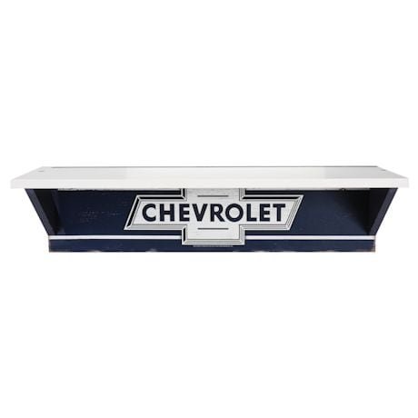 Rustic Chevy Wall Shelf