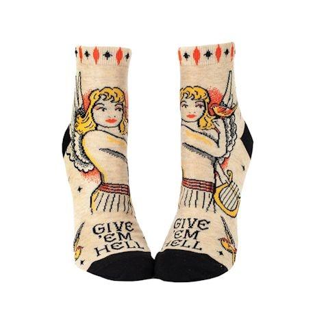 Femme Fighter Ankle Socks