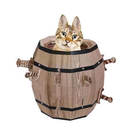 Cat Barrel