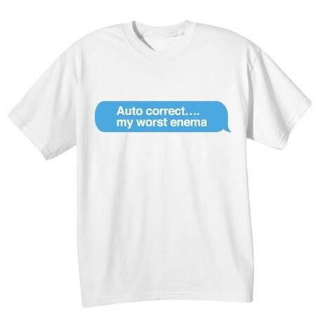 Autocorrect Shirts