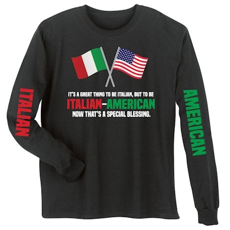 Italian - American Special Blessings Shirts