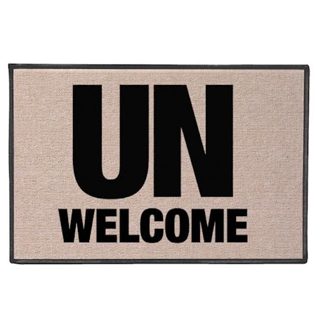 Un-Welcome Doormat
