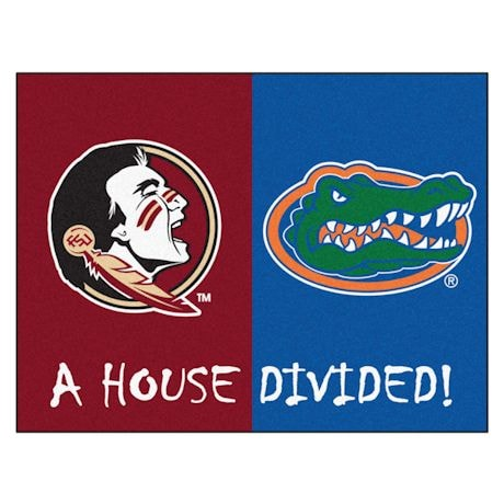 NCAA House Divided Mat