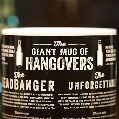 Giant Mug Of Hangovers