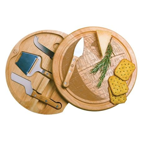 Death Star Cheese Board And Knives