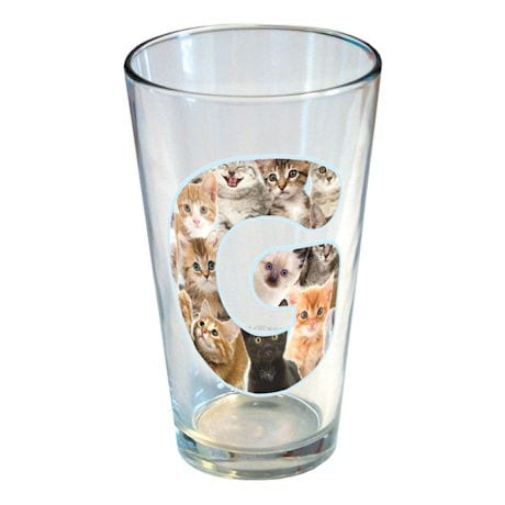 Personalized Kitty Pint Glass