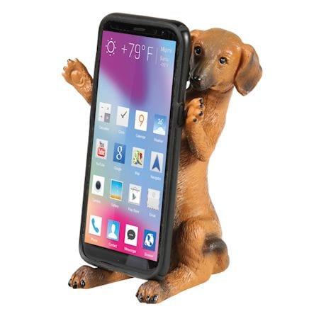 Dachshund Dog Mobile Phone Holder