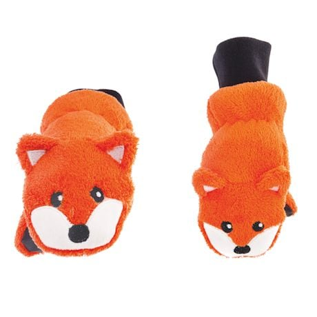 Kids' Fox Puppet Mittens