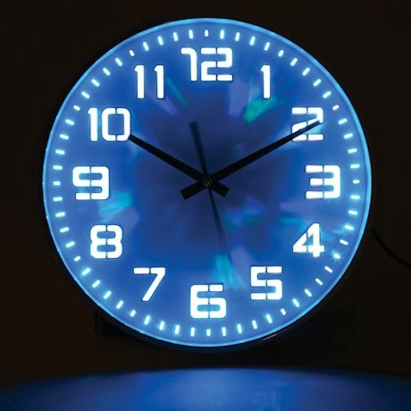 Led Color Changing Clock