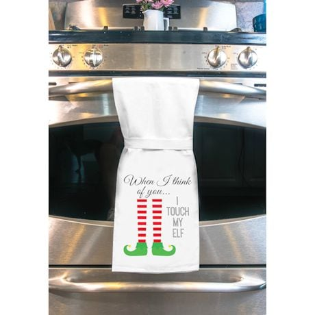 Twisted Holiday Kitchen Towels