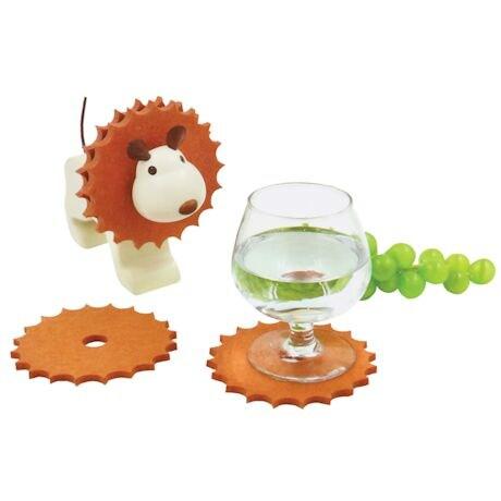 Lion Coaster Holder