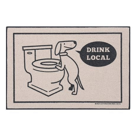Drink Local Doormat