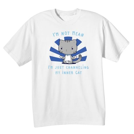 Not Mean, Inner Cat T-Shirts