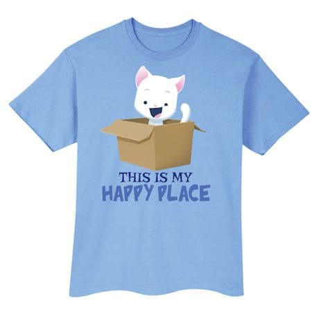 This Is My Happy Place T-Shirts