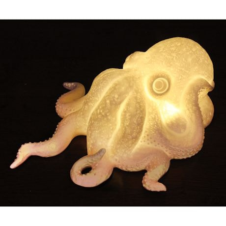 Octopus Shaped Lamp
