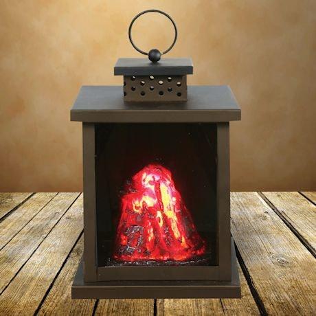 Volcanic Led Lantern