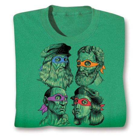 Teenage Muntant Ninja Turtle Artist Shirts
