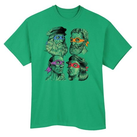 Teenage Muntant Ninja Turtle Artist Shirts