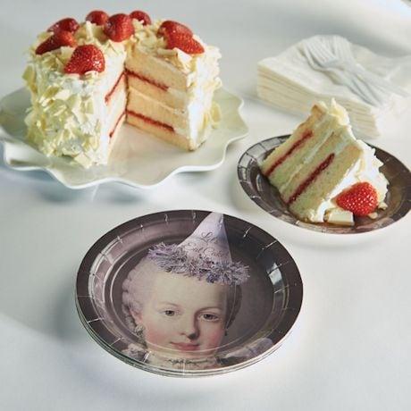Marie Antoinette Cake Plates
