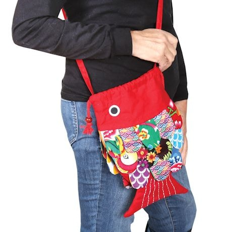 Patchwork Fish Handbag/Tote