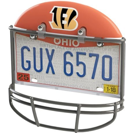 NFL Helmet License Plate Frame