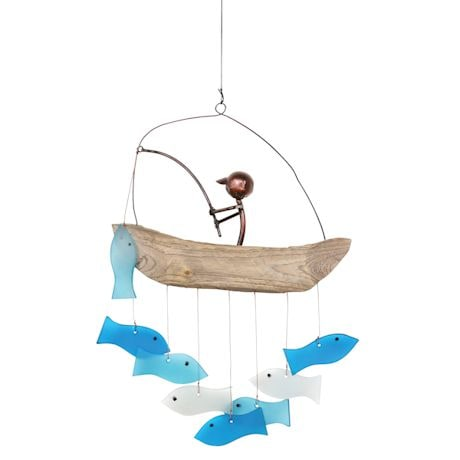 Gone Fishing Windchime