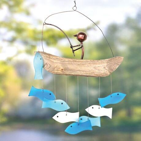 Gone Fishing Windchime
