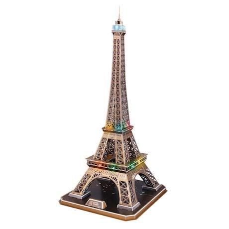 Led 3D Eiffel Tower Puzzles