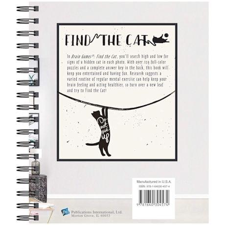 Find The Cat -  Brain Games - Picture Book
