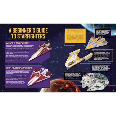 Star Wars Paper Flyers Craft Kits
