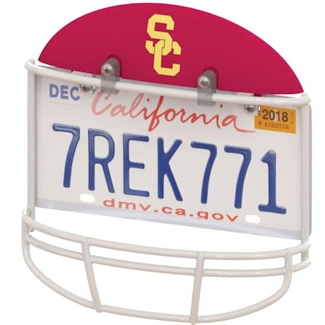 NCAA Helmet License Plate Frame