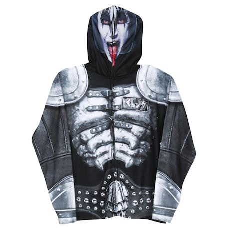 Kiss Demon Mask Hoodie