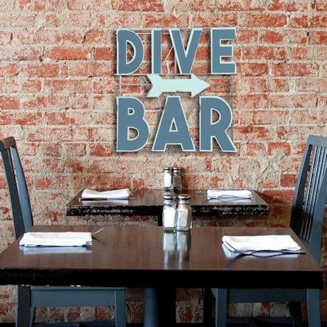 Dive Bar Sign