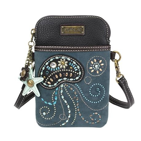 Sea Turtle And Jellyfish Crossbody Bags