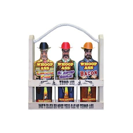 Whoop-Ass Cowboy Hot Sauce Set