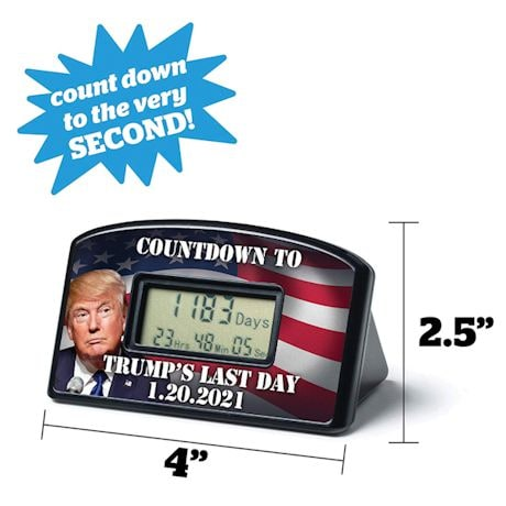Trumps Last Day Countdown Timer