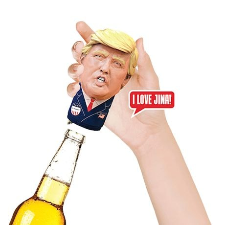 Mr. President Bottle Topper
