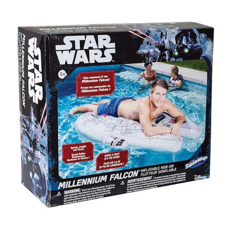 Millenium Falcon Pool Float