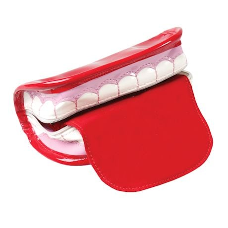 Teeth And Tongue Wristlet