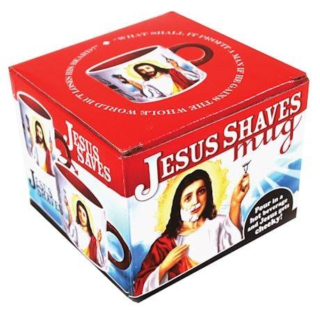 Transforming Jesus Shaves Mug