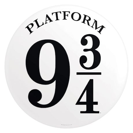 Platform Harry Potter Sign