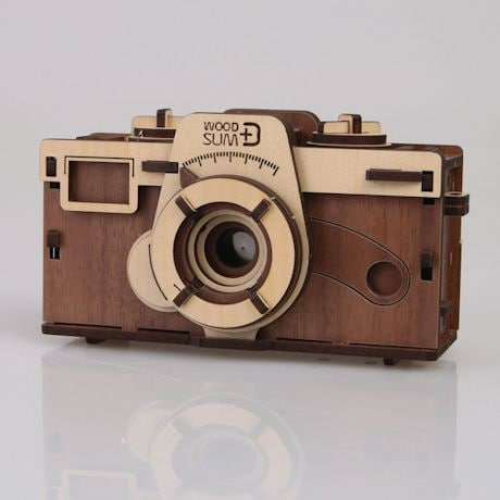 Working Wood Pinhole Camera